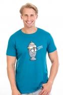 náhled - Potřebuju rozptýlit modré pánske tričko