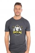 náhled - Parta hic šedé pánske tričko