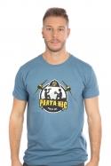 náhled - Parta hic modré pánske tričko