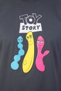 náhled - Príbeh hračiek šedé pánské tričko