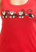 náhled - Opica dámske tielko