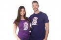 náhled - Zmydlím tě fialové pánske tričko