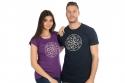 náhled - Alkoholický kompas modré pánske tričko
