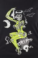 náhled - Striptíz dámske BIO tričko