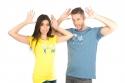náhled - Prdlá modré pánske tričko