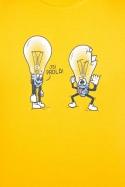 náhled - Prdlá žlté pánske tričko