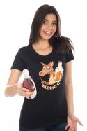 náhled - Klokni si dámske BIO tričko
