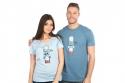 náhled - Ti šľahnem modré pánske tričko