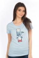 náhled - Ti šľahnem dámske BIO tričko