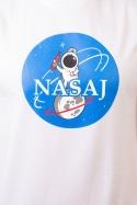 náhled - Nasaj biele pánske tričko