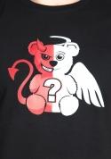 náhled - Anjel vs. diabol pánske tričko