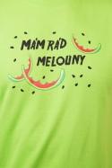 náhled - Melouny zelené pánske tričko