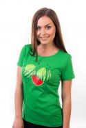 náhled - Melouny zelené dámske BIO tričko