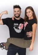 náhled - Ve formě čierne dámske BIO tričko