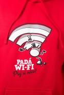náhled - Padá wi-fi pánska mikina