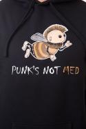 náhled - Punks Not Med pánska mikina