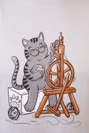 náhled - Mačka pradie pánske tričko