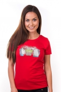 náhled - Paríme dámske BIO tričko