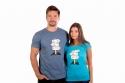 náhled - Rozcestník modré pánske tričko