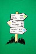 náhled - Rozcestník zelené pánske tričko