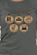 náhled - Turistika 2020 dámske tričko