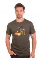 náhled - Dřevorubec pánske tričko