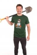 náhled - Krtek zahradník pánske tričko