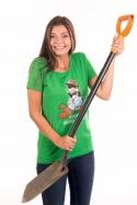 náhled - Krtek zahradník dámske BIO tričko