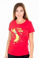 náhled - Cáklá dámske BIO tričko