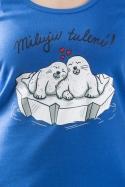 náhled - Miluju tulení dámske tielko