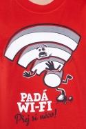 náhled - Padá wi-fi detské tričko