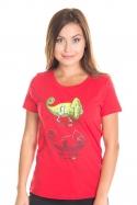 náhled - Zapnuté vypnuté dámske BIO tričko