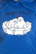 náhled - Miluju tulení dámska mikina