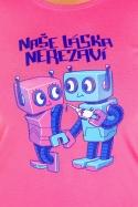 náhled - Roboti dámske tričko