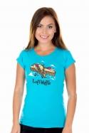náhled - Luftwaffle dámske tričko