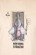 náhled - Stíhačka pánske tričko