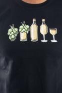 náhled - Evolúcia bieleho vína pánske tričko