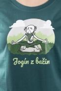 náhled - Jogín z bažin dámske BIO tričko