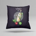 náhled - Víno volá vankúš