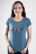 náhled - Opice dámske tričko