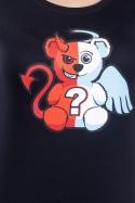 náhled - Anjel vs. diabol dámske tričko