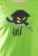 náhled - Čičina zelené dámske tričko