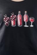 náhled - Evolúcia červeného vína dámske tričko