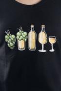 náhled - Evolúcia bieleho vína dámske tričko