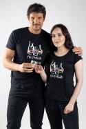 náhled - Frutarián čierne dámske tričko