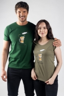 náhled - Čiapka khaki dámske tričko