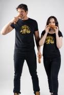 náhled - Čuňdr čierne dámske tričko