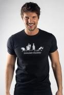 náhled - Evoluce pálenky pánske tričko