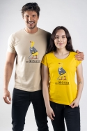 náhled - Dr. House žlté dámske tričko