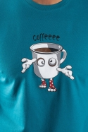 náhled - Zombie kafe pánske tričko